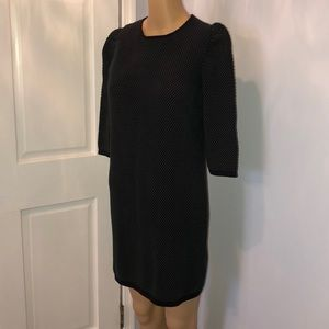 COS 100% cotton sweater dress